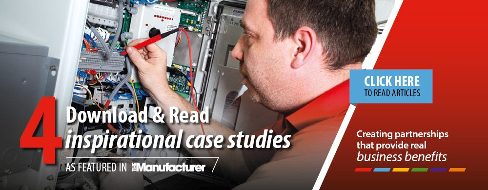 Download & Read 4 Inspirational case studies as featured in The Manufacturer