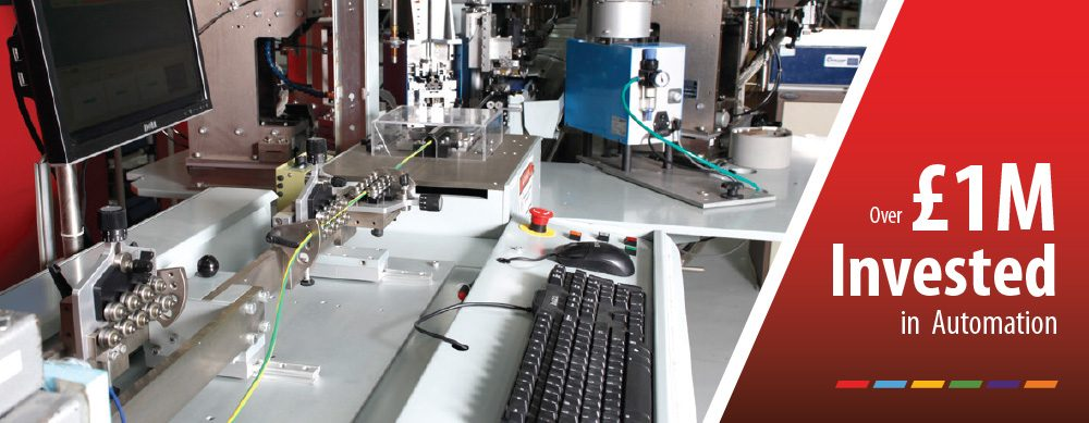 £1million invested in automation