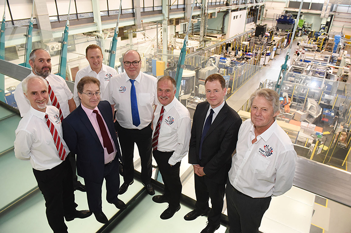 Manufacturing collaboration links up with WMG to deliver £2m contract boost » MAN WMG 2017 700 » PP Control & Automation
