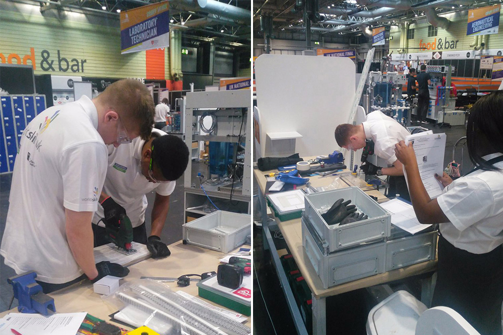 PP looks to inspire the next generation at World Skills Show » pp worldskills 1 » PP Control & Automation