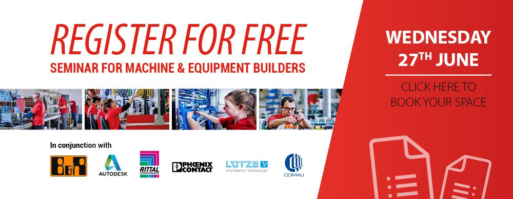 Free Seminar for Machine & Equipment builders