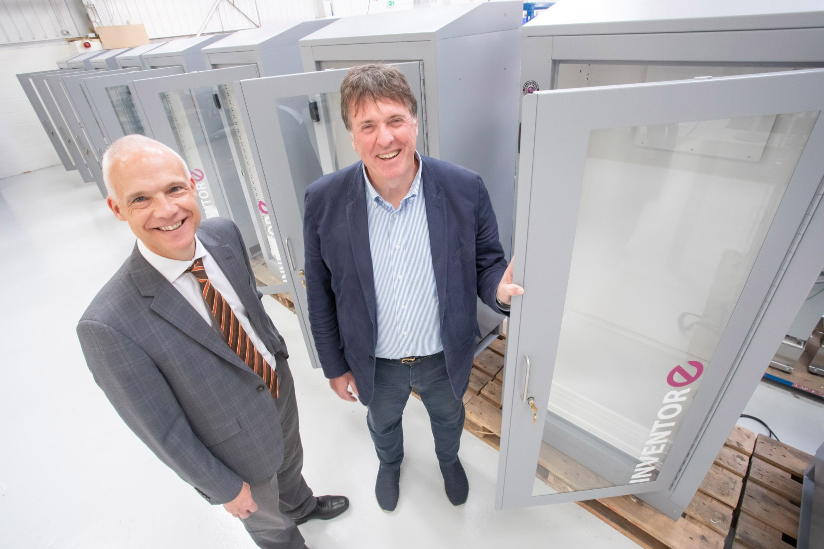 PP's outsourcing manufacturing offer helps Inventor-e create ten jobs as part of its 60% growth » Inventor e PR L » PP Control & Automation