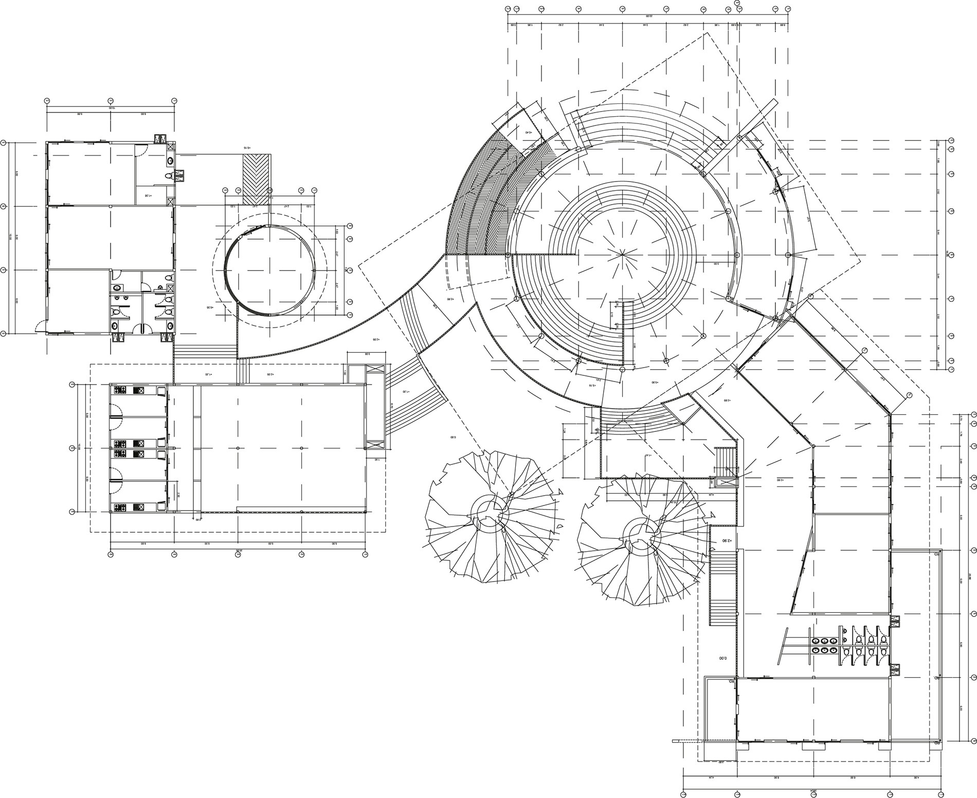 Vacuum chambers & gas management » CAD drawing 2 » PP Control & Automation