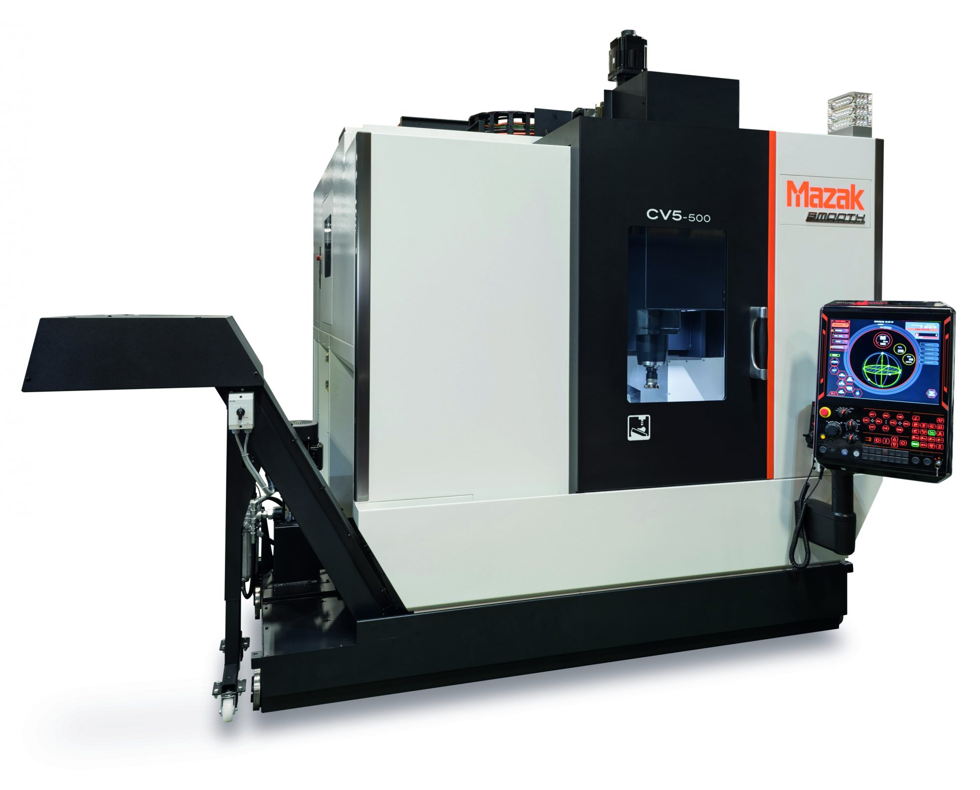 PP C&A celebrates 30,000 'control systems' milestone with Mazak UK » CV5 500 » PP Control & Automation