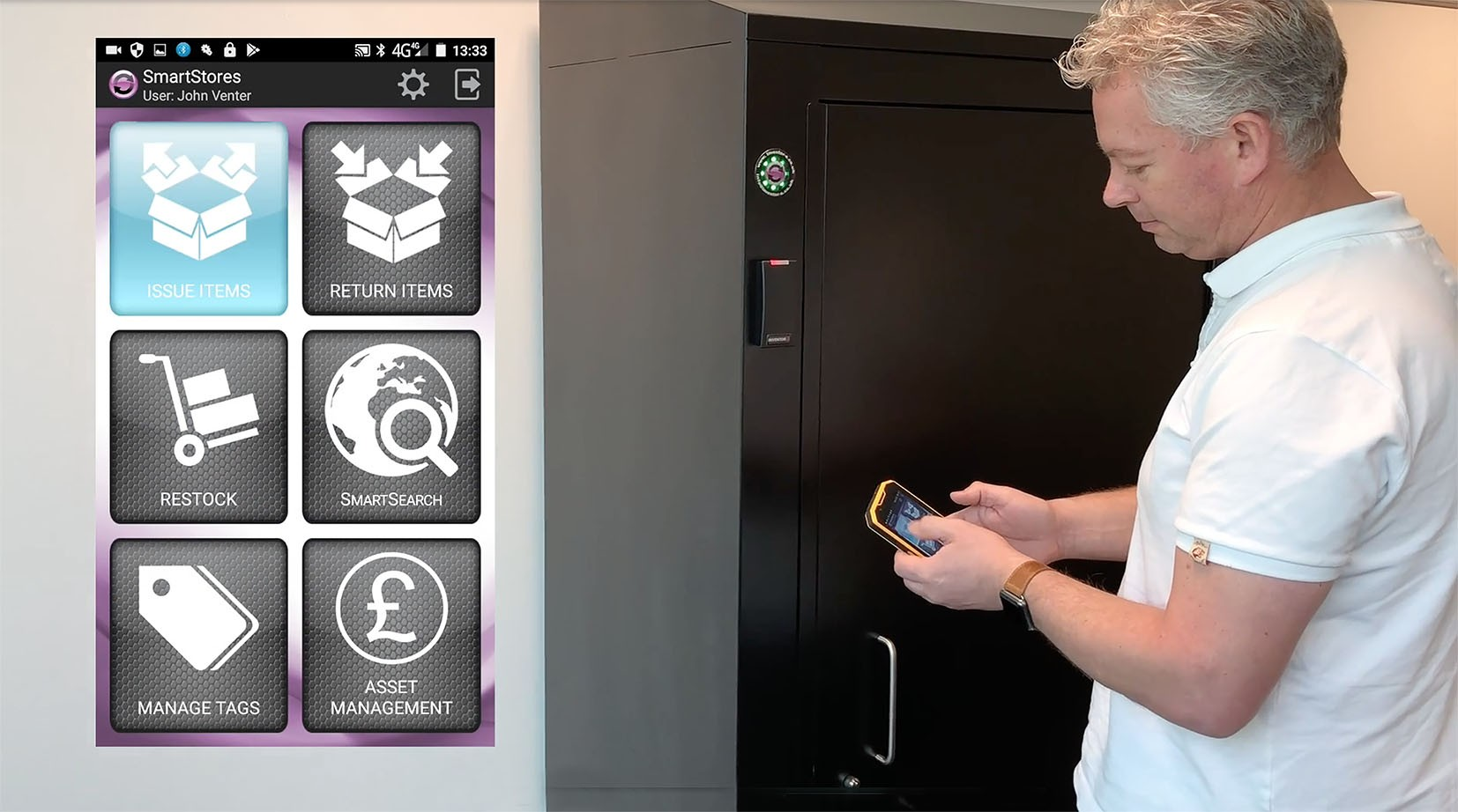 Manufacturing deal helps Inventor-e target £multi-million 'industrial vending' opportunity » SmartStore Secure L » PP Control & Automation