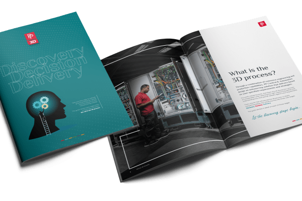 PP C&A 3D process: A free guide for machine builders & OEMs considering outsourcing » pp 3d spread mockup fior web » PP Control & Automation