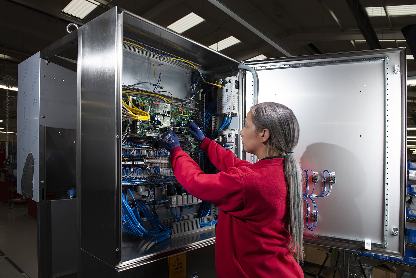 PP C&A targets training boost with investment in Bright Sparks initiative » Control Panel Build June 20 » PP Control & Automation