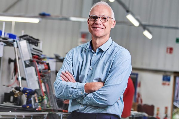 Hague puts manufacturing on the map after being named as one of the UK's top 50 most ambitious business leaders » Tony Hague L LDC » PP Control & Automation